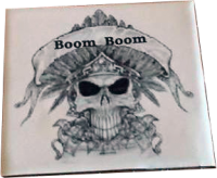 "Custom Drum Muff for Robert ""Boom Boom"""