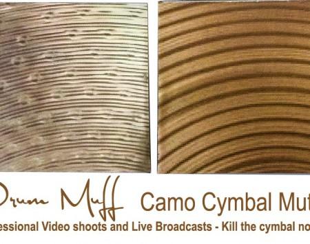 Camo Cymbal Mute Pro
